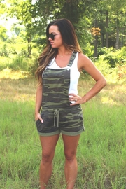 Diamond T Outfitters Camo Short Overalls - Product Mini Image