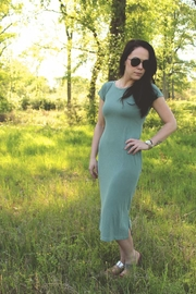 Diamond T Outfitters The Muse Midi Dress - Product Mini Image