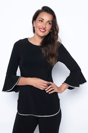 Frank Lyman Diamonte Knit Evening Top - Product Mini Image