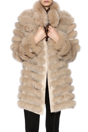 Diana Brosh The Reversible Fox Coat - Front cropped