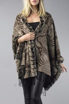 Shoptiques Product: Cashmere Fox Wrap