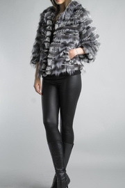 Diana Knit Fur Jacket - Front cropped