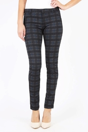 Kut from the Kloth Diana Plaid Ponte - Product Mini Image