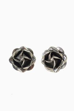 Shoptiques Product: Rose Stud Earrings