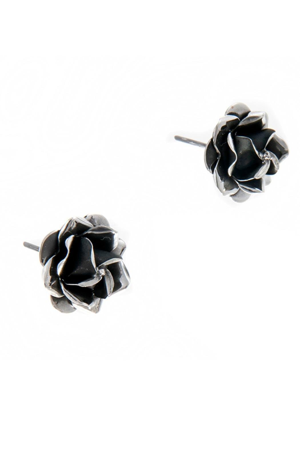 Diana Rose Stud Earrings - Front Full Image