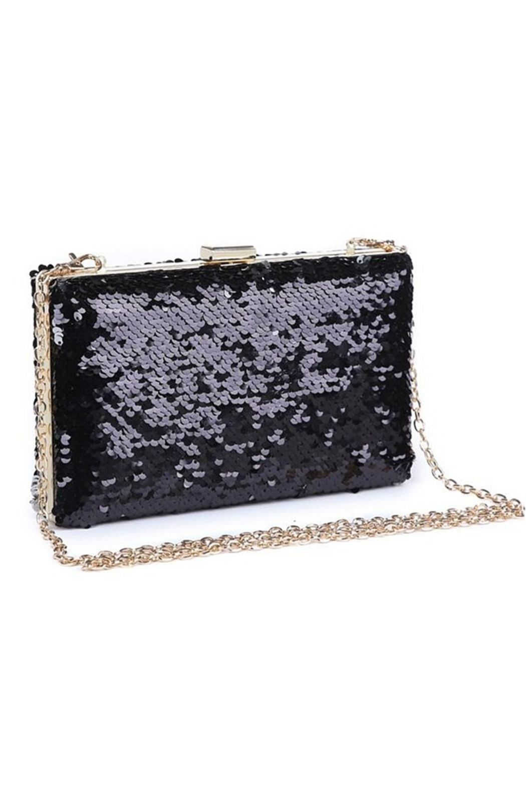 Urban Expressions Diana Sequin Clutch - Front Cropped Image