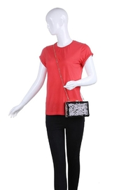 Urban Expressions Diana Sequin Clutch - Back cropped
