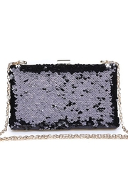 Urban Expressions Diana Sequin Clutch - Front full body