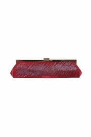 Diane's Accessories Beaded Burgundy Clutch - Product Mini Image