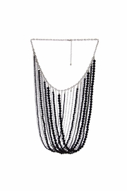 Diane's Accessories Black Beaded Necklace - Product Mini Image