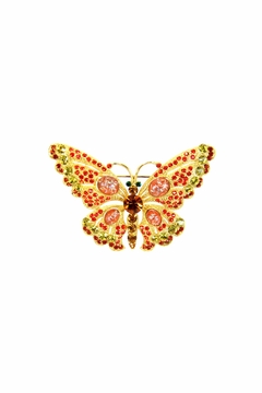 Shoptiques Product: Butterfly Pin Orange
