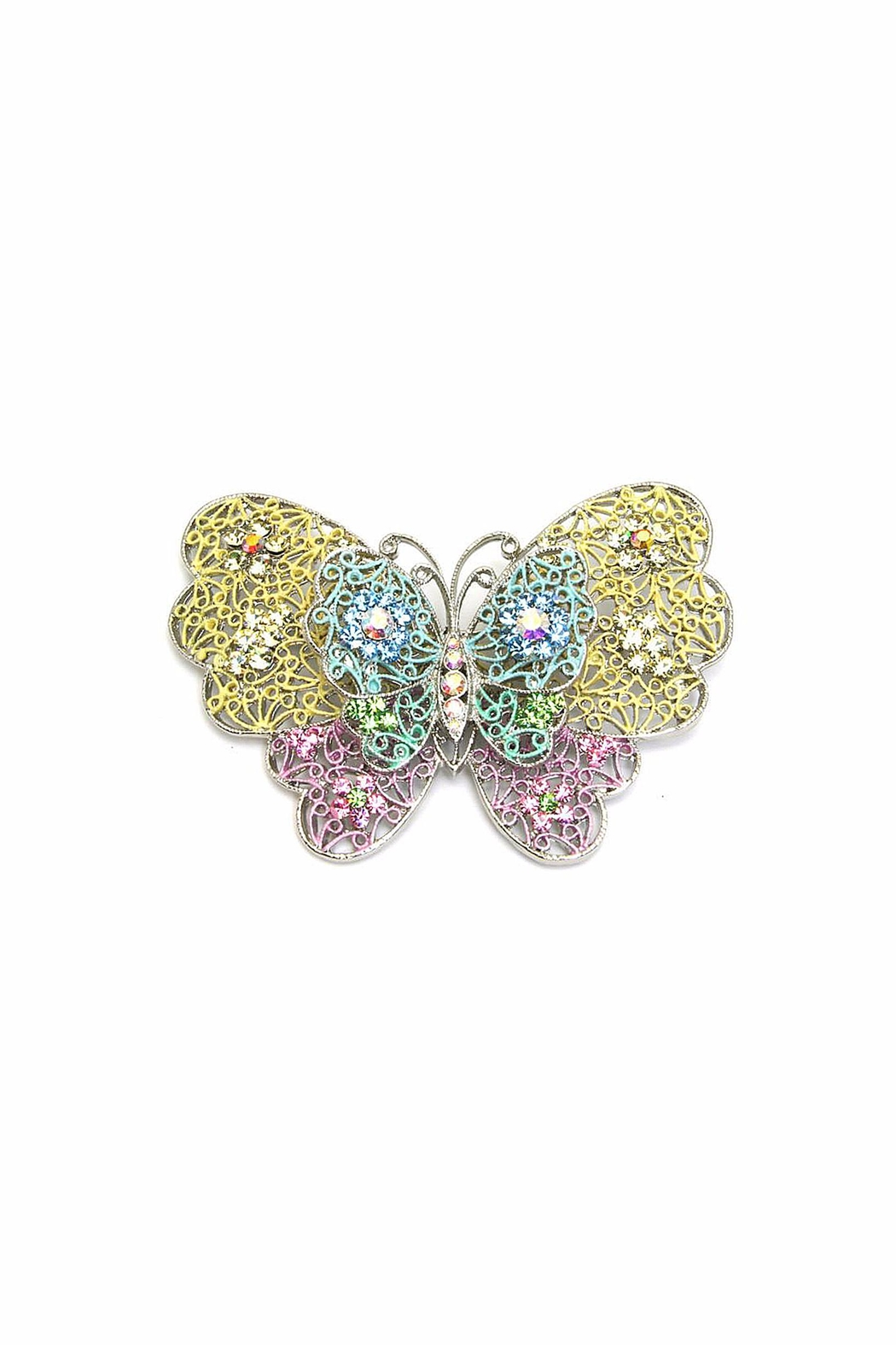 Diane's Accessories Butterfly Pin Pastel - Main Image