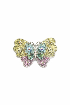 Shoptiques Product: Butterfly Pin Pastel