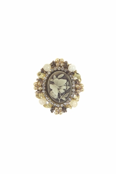 Shoptiques Product: Cameo Butterfly Pin