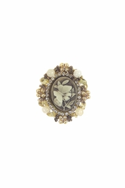 Diane's Accessories Cameo Butterfly Pin - Front cropped