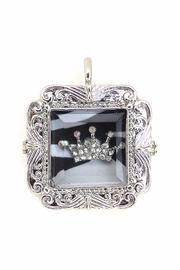 Diane's Accessories Crown Shadow-Box Pendant - Product Mini Image