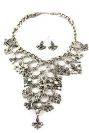 Diane's Accessories Fleur-De-Lis Charm Necklace - Product Mini Image