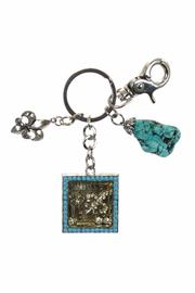Diane's Accessories Fleur De Lis Key Ring - Product Mini Image