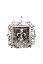 Diane's Accessories Fleur-De-Lis Shadow-Box Pendant - Product Mini Image