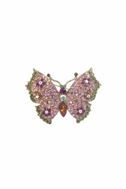 Diane's Accessories Flower Butterfly Pin Rose - Product Mini Image