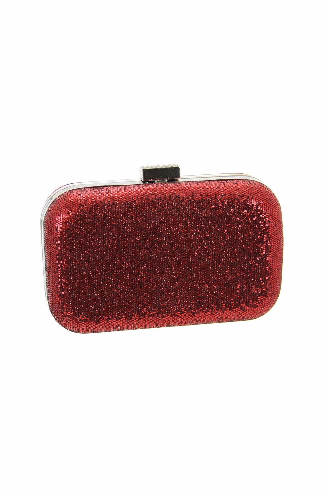 Diane's Accessories Hive Glitter Clutch - Front Cropped Image