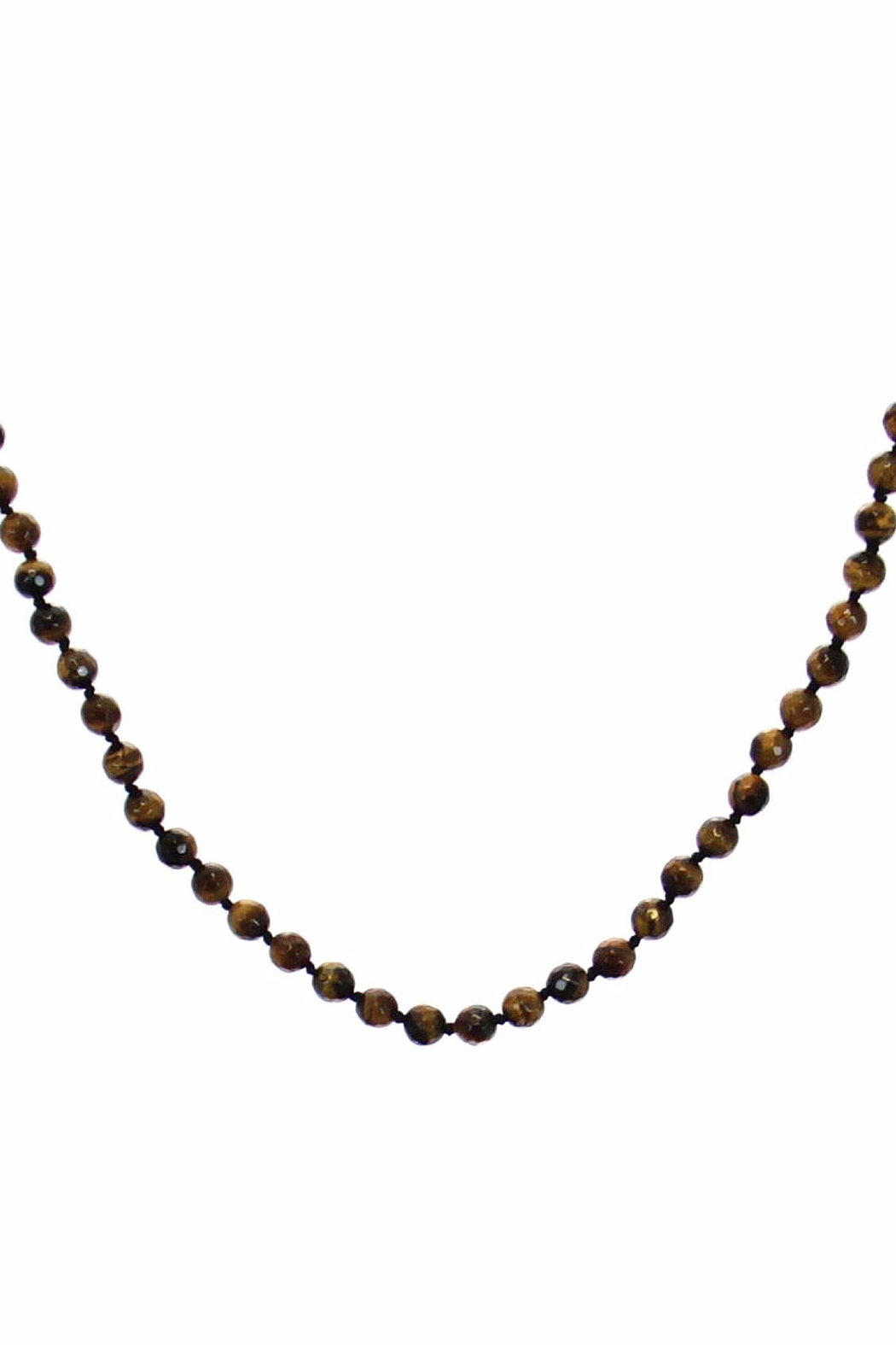 Diane's Accessories Horn Tiger's-Eye Necklace - Front Full Image