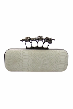 Shoptiques Product: Knuckle Snake Clutch