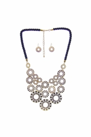 Diane's Accessories Navy Rope Necklace Set - Product Mini Image