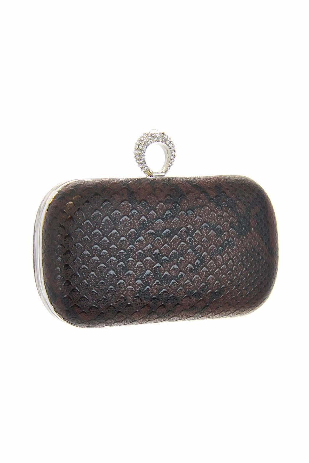 Diane's Accessories One Ring Clutch Brown - Main Image