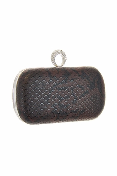 Diane's Accessories One Ring Clutch Brown - Alternate List Image