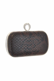 Diane's Accessories One Ring Clutch Brown - Product Mini Image