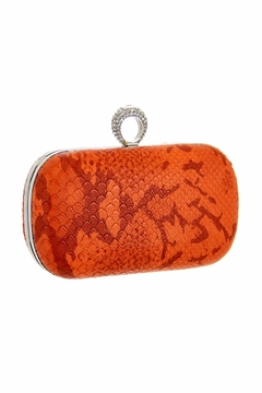 Diane's Accessories Orange One Ring Clutch - Alternate List Image