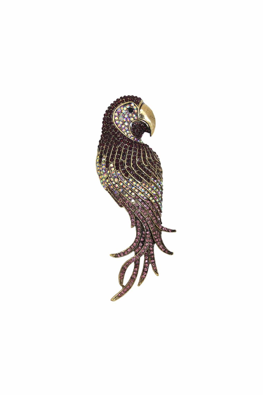 Diane's Accessories Parrot Pin/pendant Amethyst - Main Image