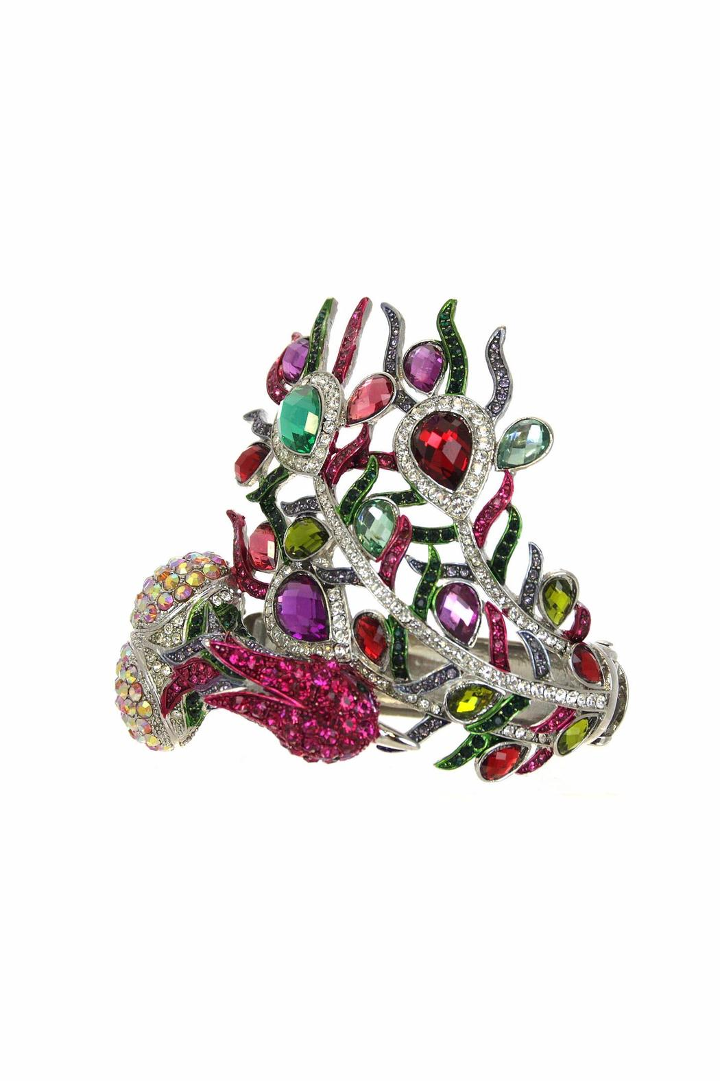 Diane's Accessories Peacock Bracelet - Front Cropped Image