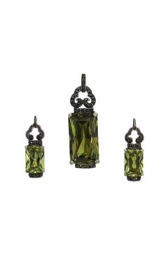 Shoptiques Product: Pendant Earring Set