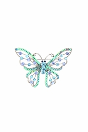 Diane's Accessories Sequin Butterfly Pin - Product Mini Image