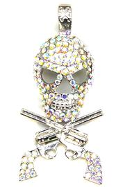 Diane's Accessories Skull & Crossbones Pendant - Product Mini Image