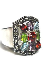 Diane's Accessories Sterling Multi-Color Zirconia - Product Mini Image