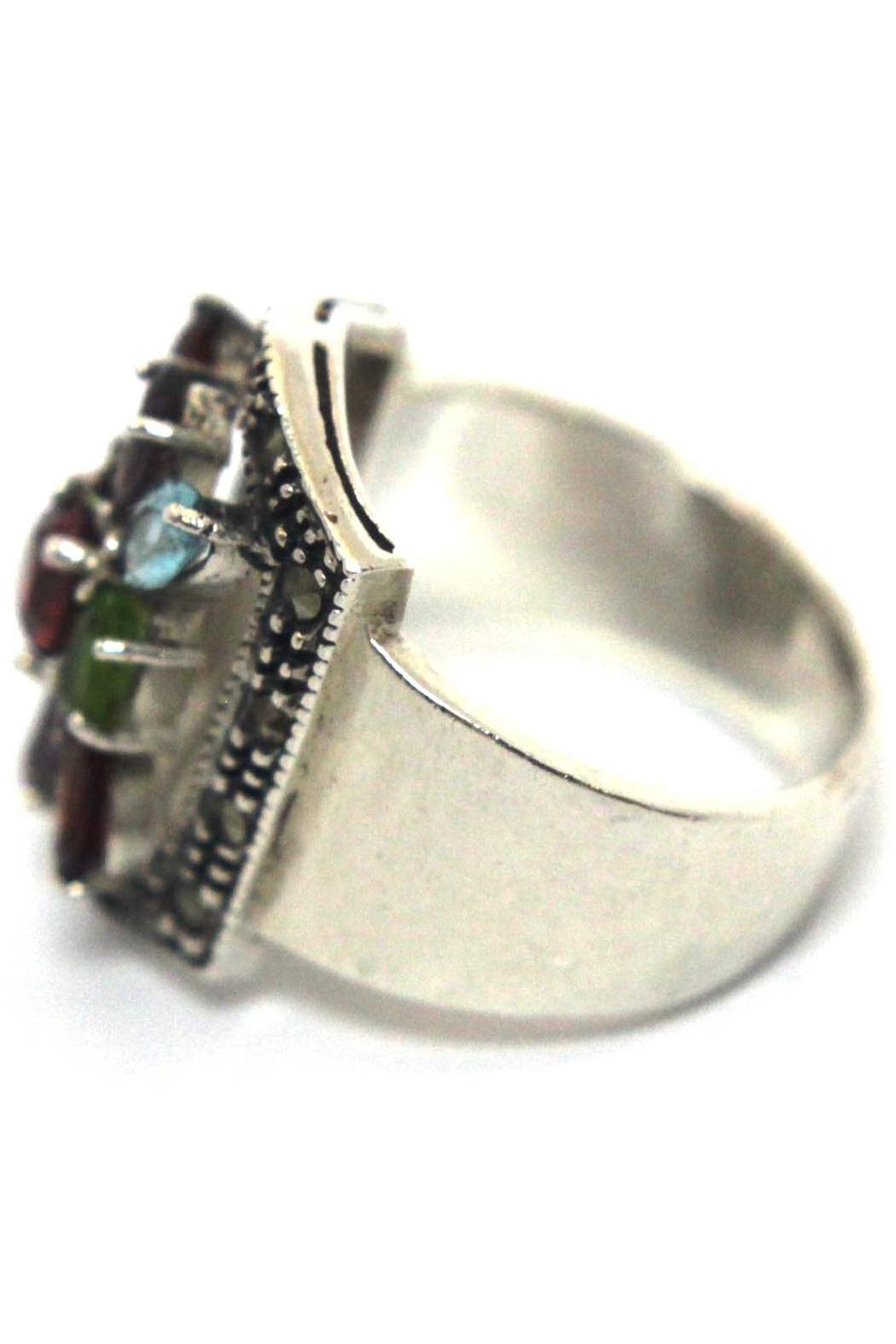 Diane's Accessories Sterling Multi-Color Zirconia - Front Full Image
