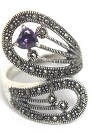 Diane's Accessories Sterling Silver Amethyst Ring - Product Mini Image