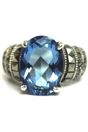 Diane's Accessories Sterling-Silver Aquamarine Ring - Product Mini Image
