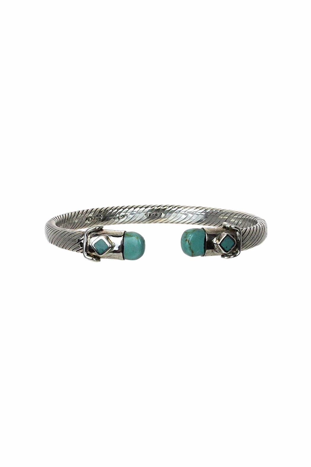 Diane's Accessories Sterling-Silver Twisted Bangle - Main Image