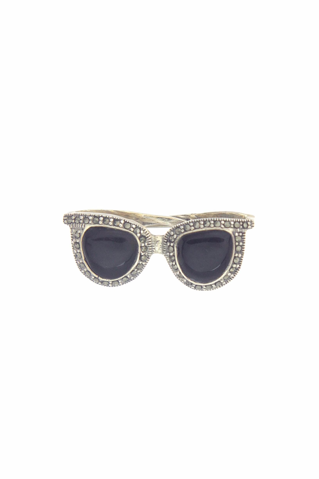 Diane's Accessories Sunglasses Brooch Onyx - Main Image
