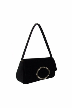 Shoptiques Product: Black Velvet Evening Purse