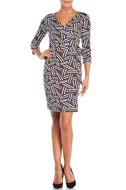 Diane von Furstenberg Printed Wrap Dress - Product Mini Image