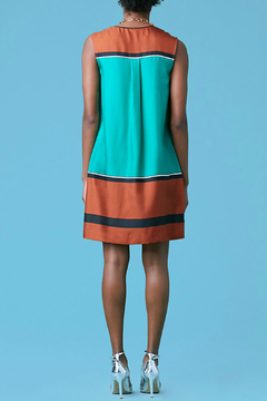 Diane von Furstenberg Sleeveless Silk Bow Dress - Alternate List Image