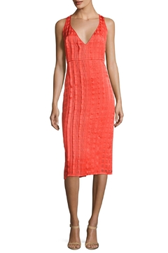 Diane von Furstenberg V Neck Midi Dress - Product List Image