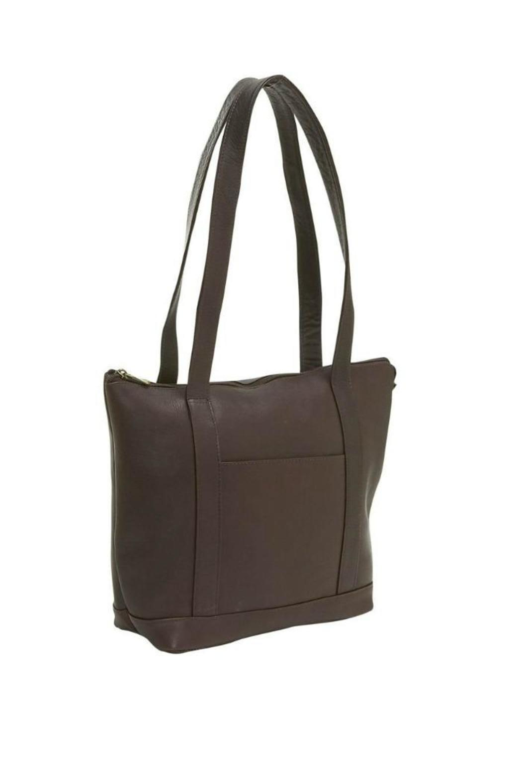 Diangela Leather Tote - Main Image