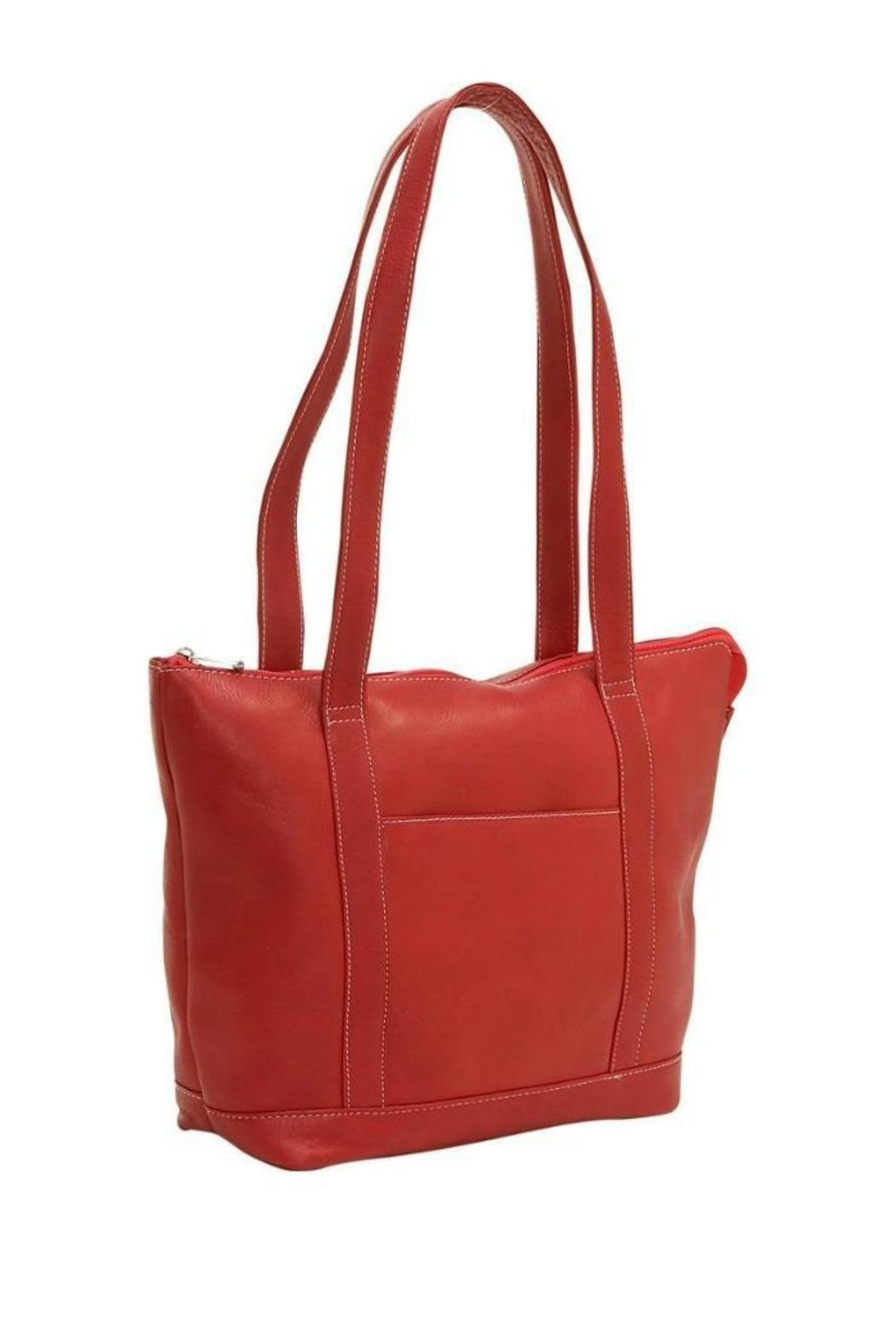Diangela Leather Tote - Front Cropped Image