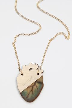Shoptiques Product: Anatomical Heart Necklace